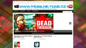 náhled webu mobilne.tode.cz