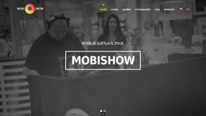 náhled webu mobishow.cz