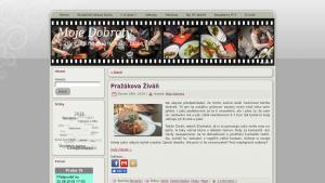 náhled webu moje-dobroty.cz