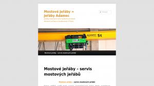 náhled webu mostove-jeraby.hys.cz