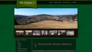 náhled webu mshredle2.cz