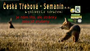 náhled webu myslivcisemanin.9e.cz