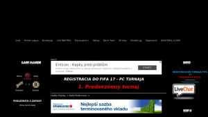 náhled webu nhl2009.funsite.cz