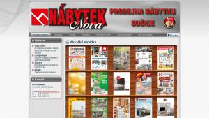 náhled webu novanabytek.cz
