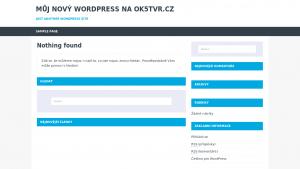 náhled webu ok5tvr.cz
