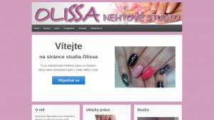 náhled webu olissa.cz