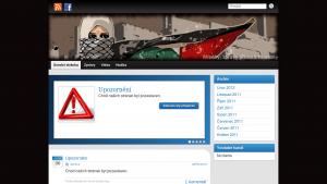 náhled webu palestina.g6.cz