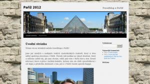 náhled webu pariz2012.8u.cz