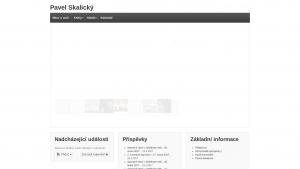 náhled webu pavelskalicky.cz