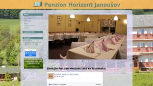 náhled webu penzion-horizont.cz