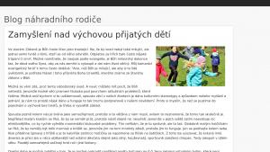 náhled webu pestouni.hys.cz