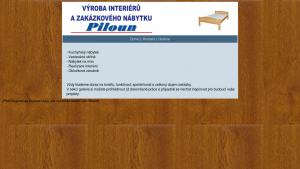 náhled webu piloun.hys.cz