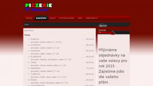 náhled webu pizza-bar.cz