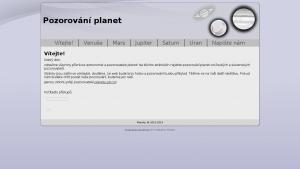 náhled webu planety.g6.cz