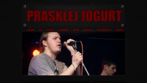 náhled webu prasklejjogurt.4fan.cz