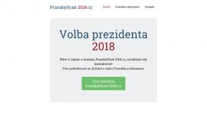 náhled webu prazskyhrad-2018.cz