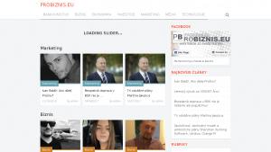 náhled webu probiznis.eu