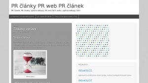 náhled webu prweb.6f.sk