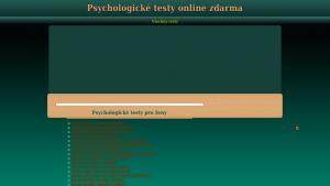 náhled webu psychologicke-testy.hys.cz