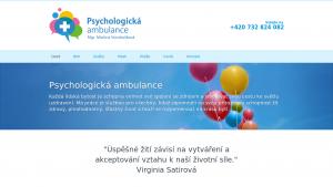 náhled webu psychologpardubice.cz