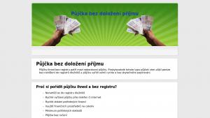náhled webu pujcka-ihned.mzf.cz
