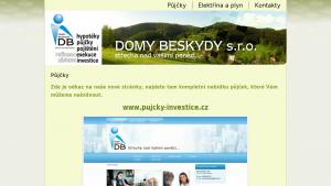 náhled webu pujcka.hys.cz