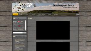 náhled webu quadcopter.8u.cz