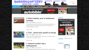 náhled webu quadrocoptery.cz