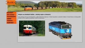 náhled webu railko.tode.cz