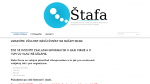 náhled webu reel-stafa.cz