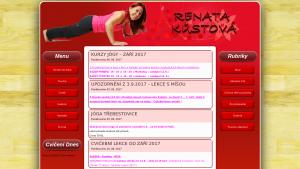 náhled webu renatakustova.cz