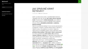 náhled webu retrivri.4fan.cz