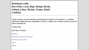 náhled webu rodina.hys.cz