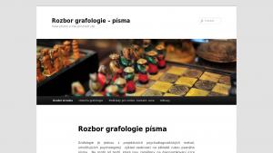 náhled webu rozbor-grafologie.cz