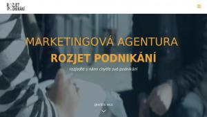 náhled webu rozjetpodnikani.cz