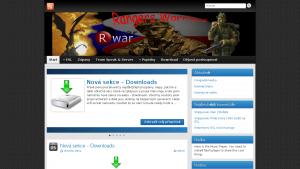 náhled webu rwar.clanweb.eu