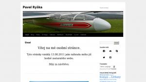 náhled webu ryshca.maweb.eu