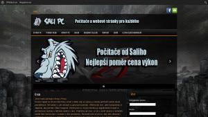 náhled webu salipc.4fan.cz