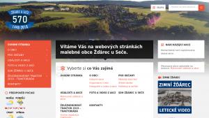 náhled webu sec-zdarec.hys.cz