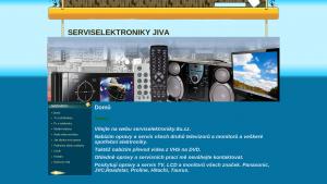 náhled webu serviselektroniky.8u.cz