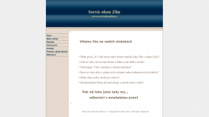náhled webu servisokenzlin.cz