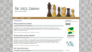 náhled webu sk1921zabreh.tode.cz