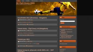 náhled webu skctyridvory2003.4fan.cz