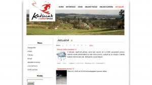 náhled webu skikadlecak.cz