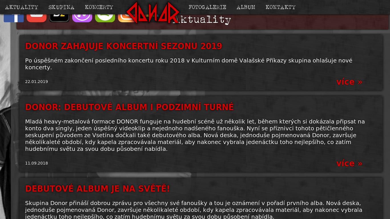 náhled webu skupinadonor.cz