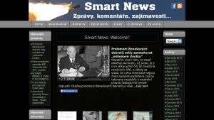 náhled webu smartnews.cz
