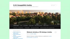 náhled webu sos-koupaliste-lhotka.cz