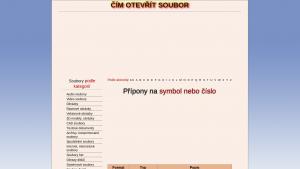 náhled webu soubory.clanweb.eu
