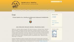 náhled webu spoleksvk.8u.cz