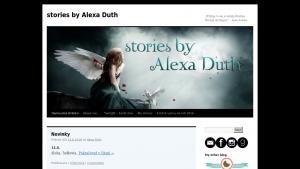 náhled webu stories-by-alexa-duth.maweb.eu